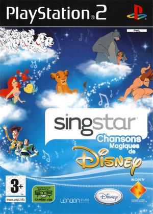 Singstar Chansons Magiques de Disney sur PS2