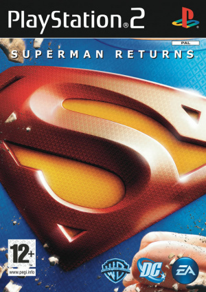 superman returns sur playstation 2. Black Bedroom Furniture Sets. Home Design Ideas