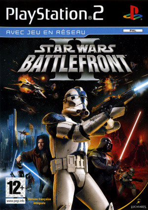 Star Wars Battlefront II sur PS2