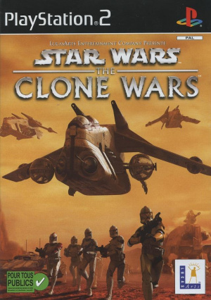 Star Wars : The Clone Wars sur PS2