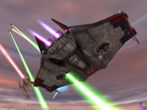 Jedi Starfighter premières images
