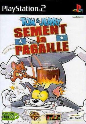 Tom & Jerry Sèment la Pagaille sur PS2