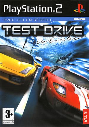 Test Drive Unlimited sur PS2