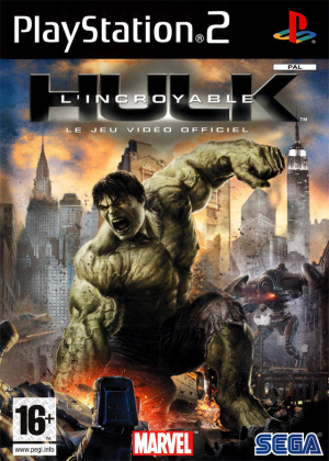 The Incredible Hulk sur PS2