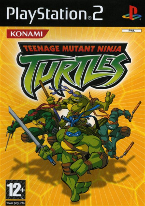 Teenage Mutant Ninja Turtles sur PS2