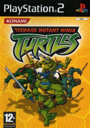 Teenage Mutant Ninja Turtles sur PS2