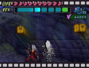 Viewtiful Joe premier du nom sur PS2
