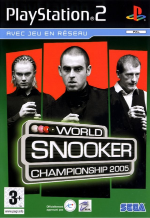 World Snooker Championship 2005 sur PS2