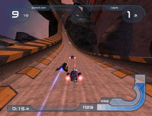 WipeOut Fusion a son site