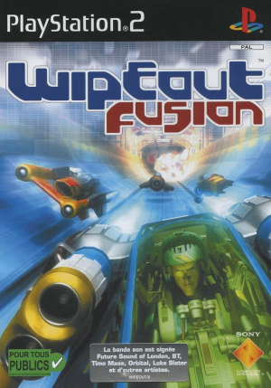 WipEout Fusion sur PS2