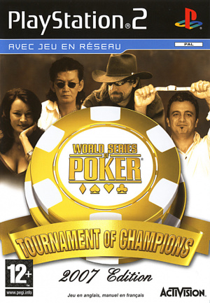 World Series of Poker : Tournament of Champions 2007 Edition sur PS2