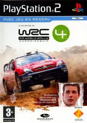 WRC 4 sur PS2