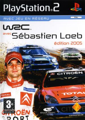 WRC avec Sebastien Loeb Edition 2005 sur PS2