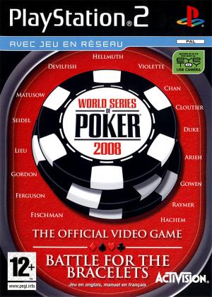 World Series of Poker 2008 : Battle for the Bracelets sur PS2