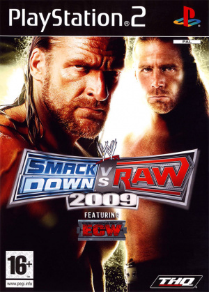 WWE Smackdown vs Raw 2009 sur PS2