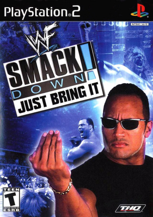WWF Smackdown! : Just Bring it sur PS2