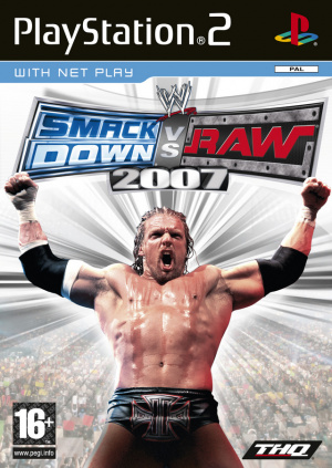 WWE Smackdown vs Raw 2007 sur PS2