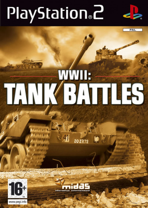 WWII : Tank Battles sur PS2
