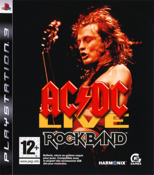 AC/DC Live : Rock Band Track Pack sur PS3