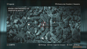 Les 11 fragments du Quartier Bayezid Sud