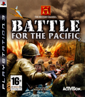 History Channel : Battle for the Pacific sur PS3