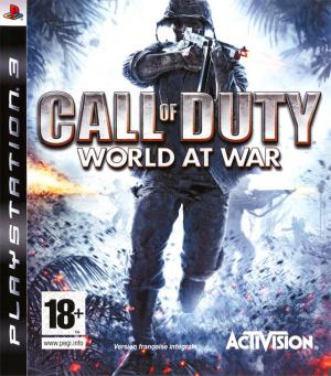 Call of Duty : World at War sur PS3