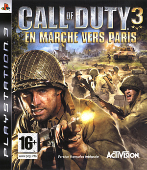 Call of Duty 3 : En Marche vers Paris sur PS3