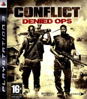 Conflict : Denied Ops sur PS3