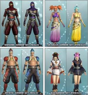 Des costumes gratuits pour Dynasty Warriors 6 : Empire
