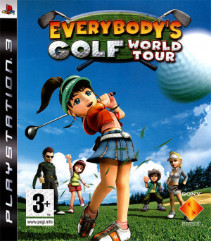 Everybody's Golf : World Tour sur PS3