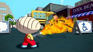 GC 2012 : Premières images de Family Guy - Back to the Multiverse
