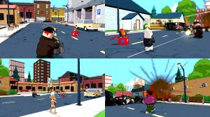 Images du multijoueur de Family Guy