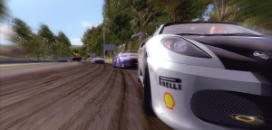 Ferrari Challenge : à cheval !
