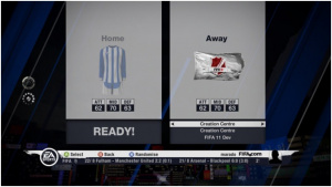 FIFA 11 : images du centre de création