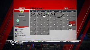 Images du mode Carrière de FIFA 11