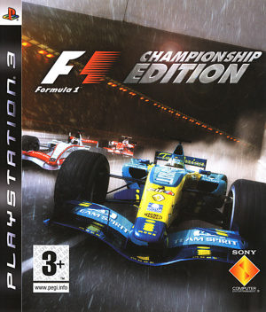 Formula One : Championship Edition sur PS3