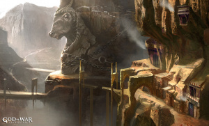 God of War : Ascension illustre ses environnements