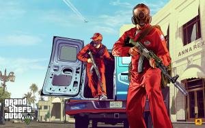 Ils ont volé GTA 5 : La vidéo du terrible méfait