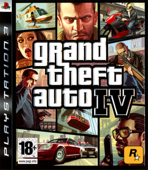Grand Theft Auto IV sur PS3
