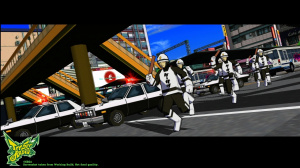 Images de Jet Set Radio HD