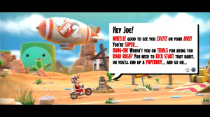 Joe Danger en exclusivité sur PS3