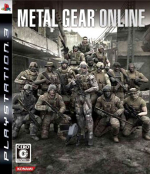 Metal Gear Online sur PS3