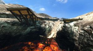 Les environnements de MotorStorm Pacific Rift