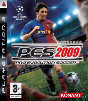 Pro Evolution Soccer 2009 sur PS3