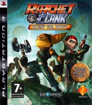 Ratchet & Clank : Quest for Booty sur PS3