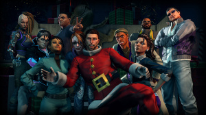Saints Row 4 fête Noël