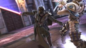 Yoda et Dark Vador dans SoulCalibur !