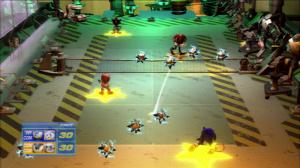Avalanche d'images de Sega Superstars Tennis