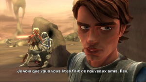 Un patch The Clone Wars : Les Héros de la République