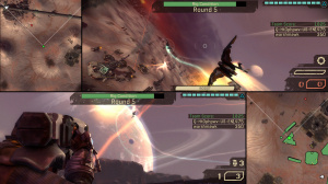 Starhawk en écran partagé